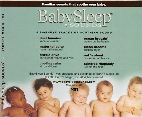BabySleep Sounds - Track List